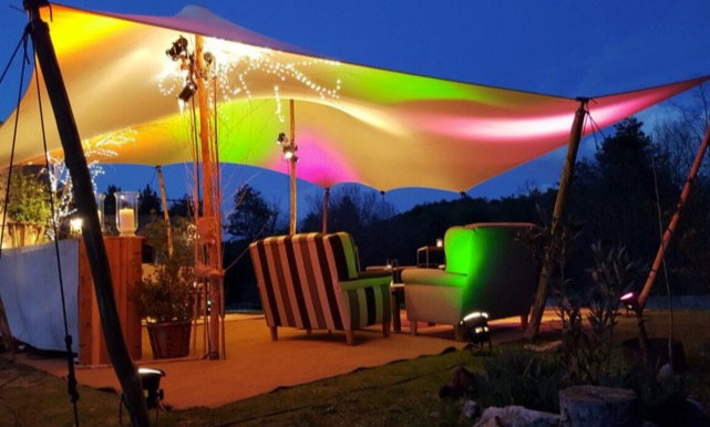 carpa beduina chillout