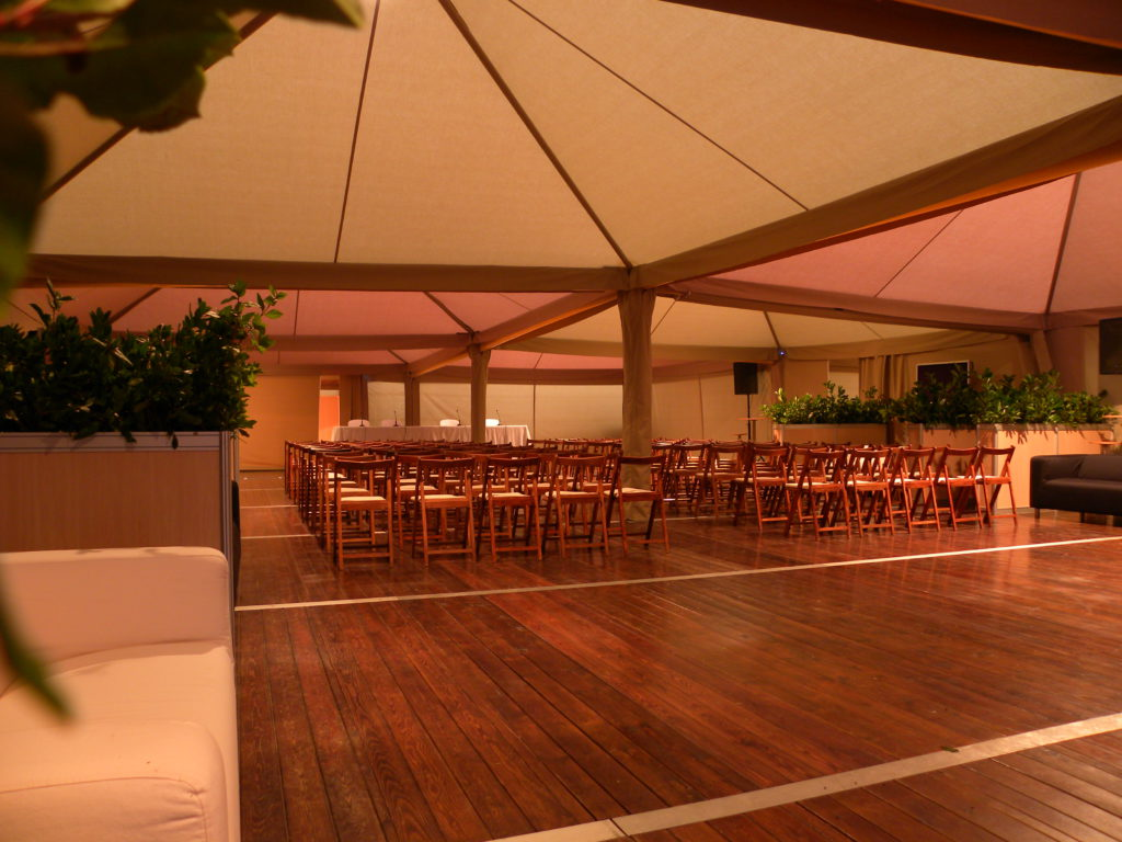 interior carpa Egipto para eventos corporativos